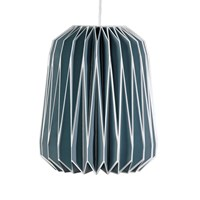 Wild Wood Nuvola Paper Lampshade French Blue