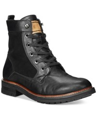 Guess Reid Boots Men's Shoes Black