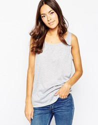 Minimum Sleeveless Vest Top 910Lightgreymelan
