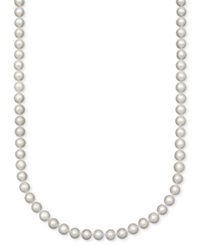 Belle De Mer Pearl Necklace 18' 14K Gold A Cultured Freshwater Pearl Strand 7 1 2 8Mm