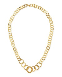 Hoopla 24K Gold Infinity Necklace Gurhan
