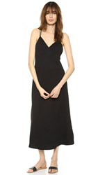 Lanston Cross Back Ankle Dress Black