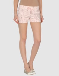 Monica Bianco Fleecewear Sweat Shorts Women Light Pink