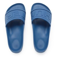 Hunter Men's Original Slide Sandals Tarp Blue