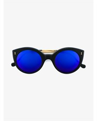 Illesteva Palm Beach Sunglasses Black Blue