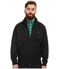 Fred Perry Plain Track Jacket Black Men's Coat