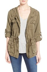 Women's Dex Hooded Military Jacket