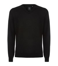 Boss Cashmere V Neck Sweater Male