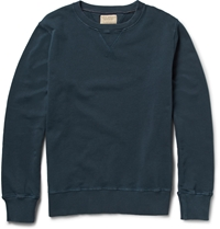Nudie Jeans Sven Cotton Jersey Sweater Blue