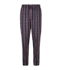 Hanro Alberto Woven Lounge Pants Male Red