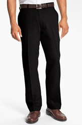 Men's Big And Tall Cutter And Buck Microfiber Twill Pants Black