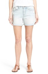 Women's Lucky Brand 'The Roll Up' Roll Cuff Distressed Denim Shorts Hatteras