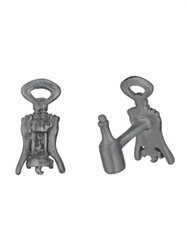 Robin Rotenier Corkscrew Cuff Links No Color