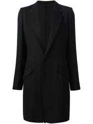 Y's Back Pleats Jacket Black