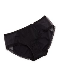 Chantelle Parisian Sheer Lace Hipster Briefs Size Small Black