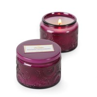Voluspa Japonica Small Glass Candle Santiago Huckleberry