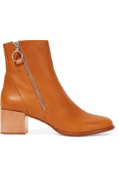 Rag And Bone Avery Leather Boots Tan