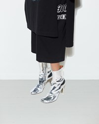 Vetements Ankle Boots Silver