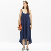 Madewell North Shore Cover Up Dress In Solid
