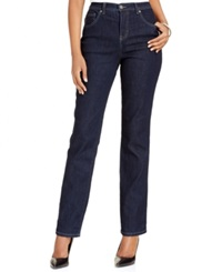 Style And Co. Natural Fit Tummy Control Jeans Rinse Wash