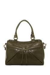 Treesje Asher Satchel Green