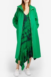 Marques Almeida Women S Oversize Wool Coat Boutique1 Green