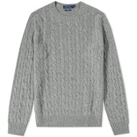 Polo Ralph Lauren Cashmere Cable Knit Grey