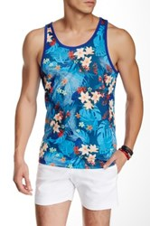 Parke And Ronen South Pacific Tank Blue