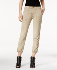 Sanctuary Military Jogger Pants Real Khaki