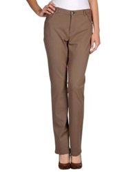 Gigue Casual Pants Dark Brown