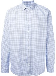 Etro Geometric Print Shirt White