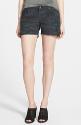 James Jeans Slouchy Cutoff Shorts Espionage Distressed