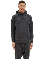 Y 3 Future Oversized Hooded Sweater Black