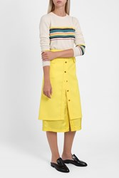 Sies Marjan Double Skirt Yellow
