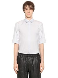 Jil Sander Stretch Cotton Blend Poplin Shirt