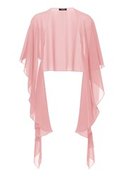 Vera Mont Chiffon Wrap With Button Option Pink