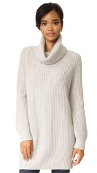 Rails Pernille Turtleneck Sweater Heather Grey