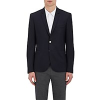 Paul Smith Ps By Men's Hopsack Two Button Sportcoat Navy
