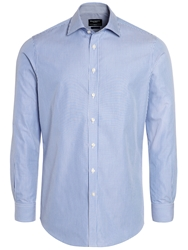 Hackett London Classic Stripe Long Sleeve Shirt Blue White