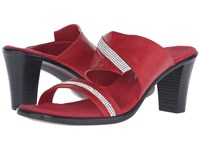 Onex Avery Red Red Stones Women's Sandals