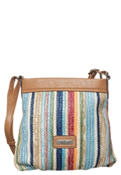 Tom Tailor Maya Across Body Bag Blue Brown
