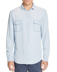 Rails Beckford Chambray Slim Fit Button Down Shirt Light Vintage Wash