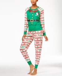 Hello Kitty Holly Jolly Christmas Pajama Set Elf