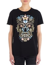 Alexander Mcqueen Skull Graphic T Shirt Black