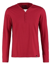 Your Turn Serafino Long Sleeved Top Red