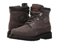 Harley Davidson Bayport Grey Women's Lace Up Boots Gray