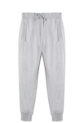 Y 3 Cotton Track Trousers Grey
