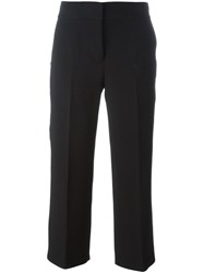 Marni Cropped Tailored Trousers Black