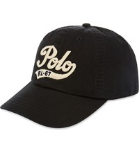 Ralph Lauren Classic Sports Cap Black