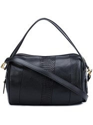 Derek Lam 10 Crosby Panelled Gym Bag Black